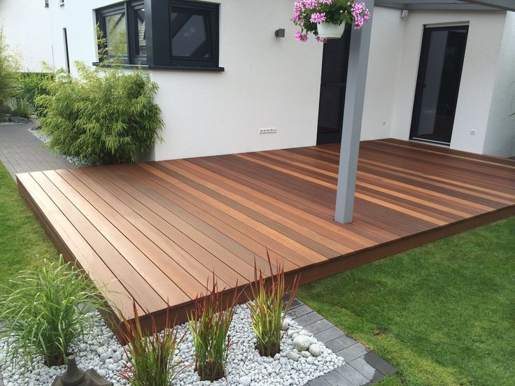 Pin by Kris on deck Pinterest Decking and Patios - faire une terrasse pas cher