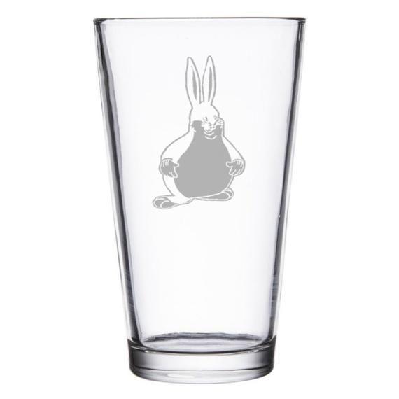 Big Chungus Meme Pint Wine Or Rocks Glass Gift Geeky Glasses