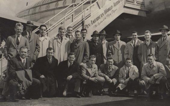 1947 Yale Rugby Team Travels To Bermuda Rugby Team Yale Rugby