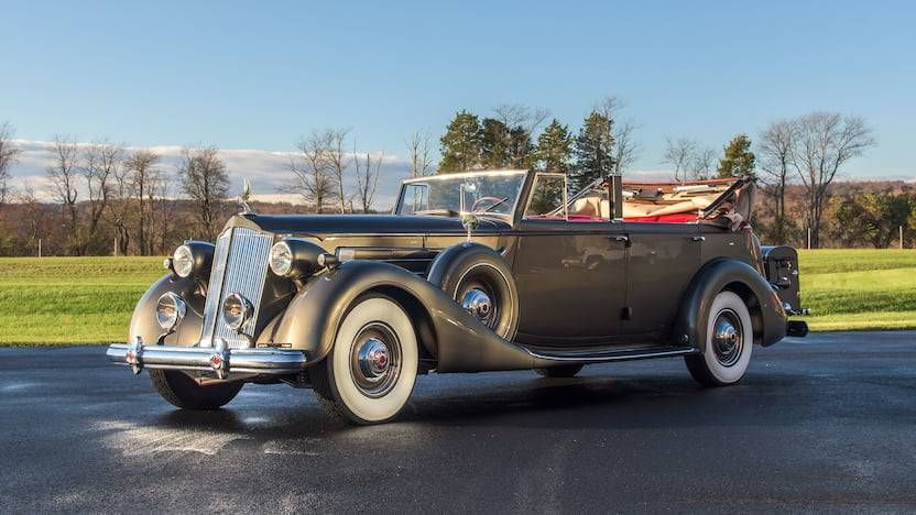 1937 Packard 1508 at auction #2038288 - Hemmings Motor News