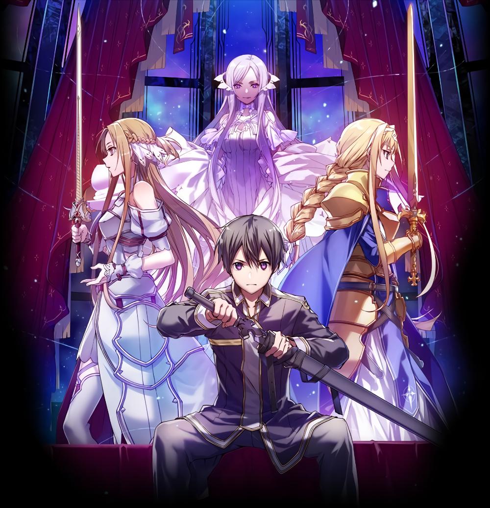 Sword Art Online Alicization Lycoris Sword Art Online Wallpaper Sword Art Online Asuna Sword Art