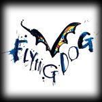 Een bijzonder logo voor een bierbrouwer. Flying Dog Brewery in Frederick, Maryland.