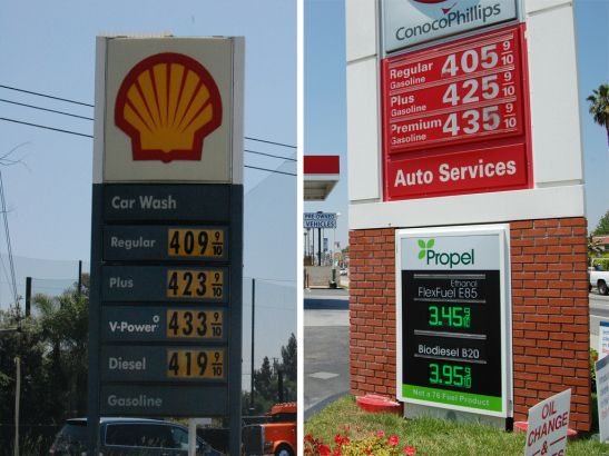 E85 Gas Stations >> Propel Fuels Pictured At The Right Sells E85 Fuel An
