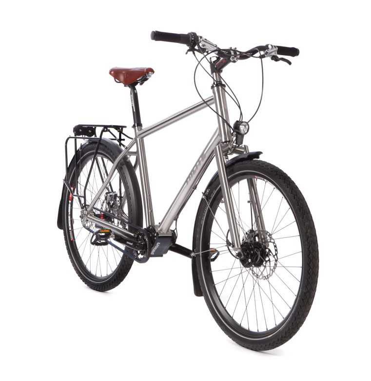 Robust Pinion P1.18 Gates traveller bicycle with the Gates Belt ...