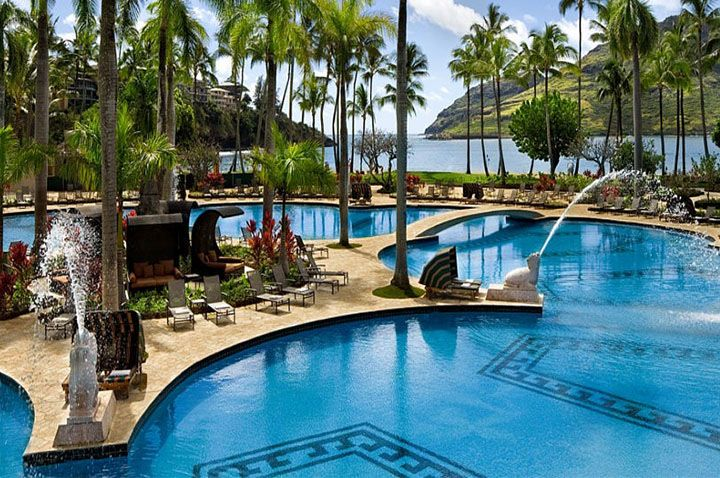 Best Kauai Hotels Kauai Hotels Marriott Resorts Beachfront Hotels