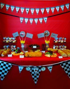 Disney Cars Birthday Party Decorations