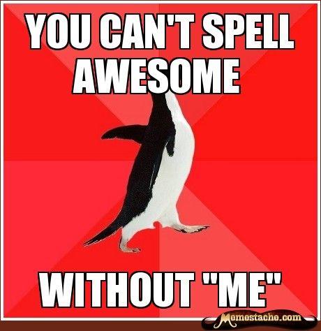 Pin By Levato On Meme Socially Awkward Penguin Penguin Meme