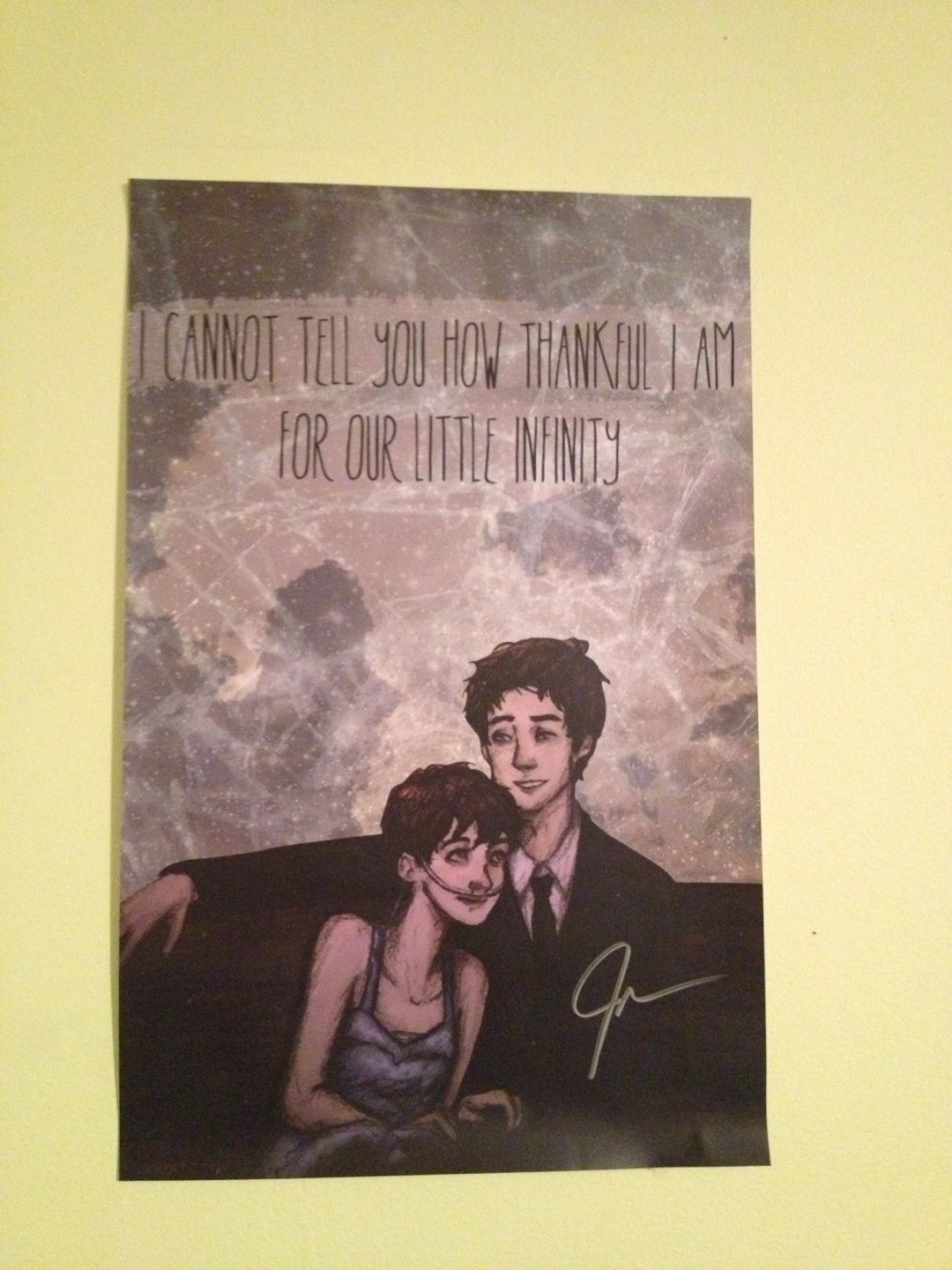 TFioS signed poster