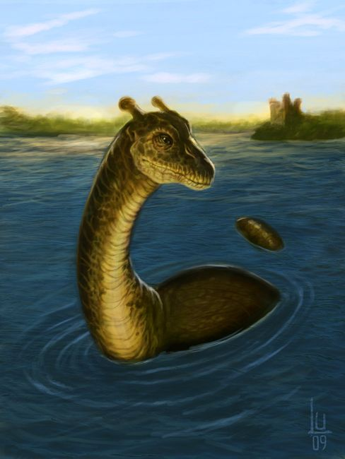 Nessie By Luvazquez On Deviantart Loch Ness Monster Mythical Creatures Lake Monsters