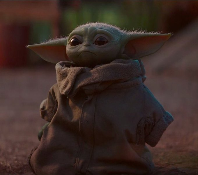 News about baby yoda on Twitter