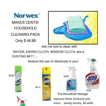 Would you like to save money and clear out chemicals in your home?  Contact me for details!  GoGreenTeamLinda@yahoo.com