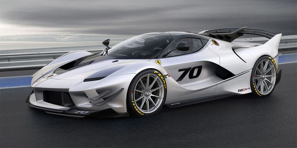 A Ferrari FXX-K Evo Is up for Sale