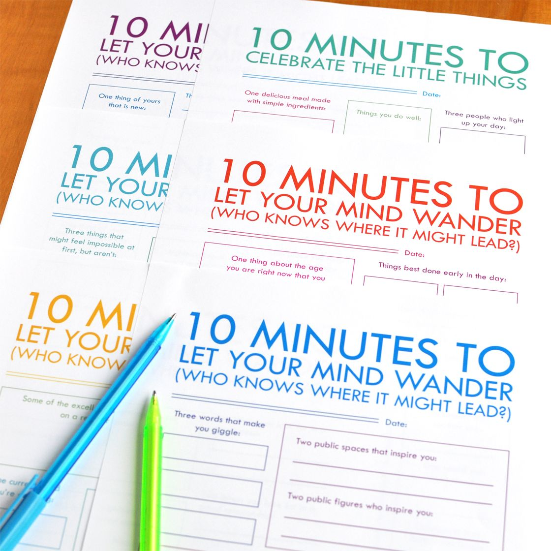 Printable Guided Journal Pages By Christie Zimmer