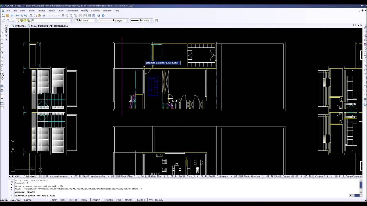Trabalhar ficheiros DWG no SketchUp (parte 1) - Preparar o ficheiro para...