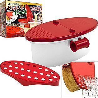 microwave pasta boat perfect pasta