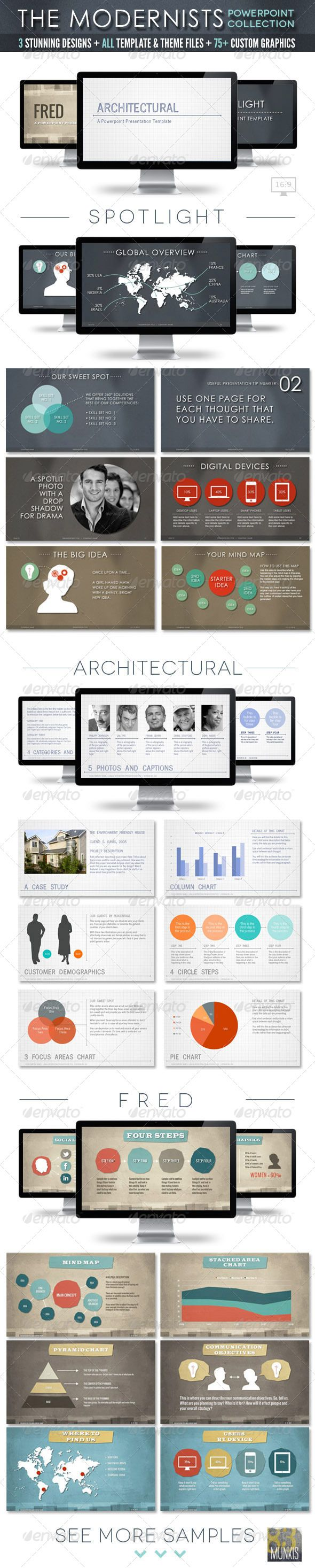 The modernists collection powerpoint templates creative the modernists collection powerpoint templates toneelgroepblik Images