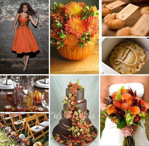 September Wedding Ideas: Fall Theme Wedding Colours : Wedding Autumn Black Burgundy