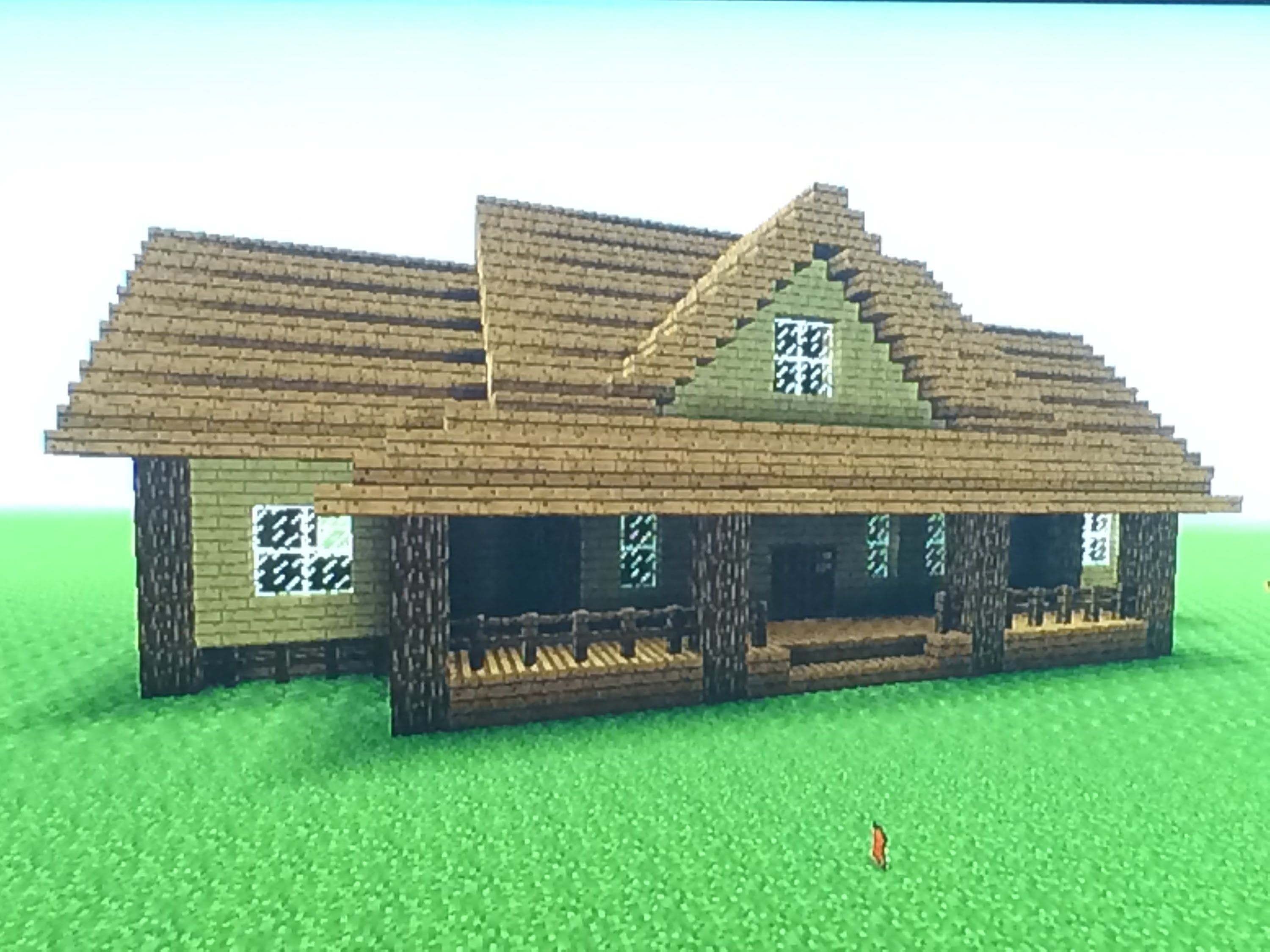 how to create a house in minecraft
