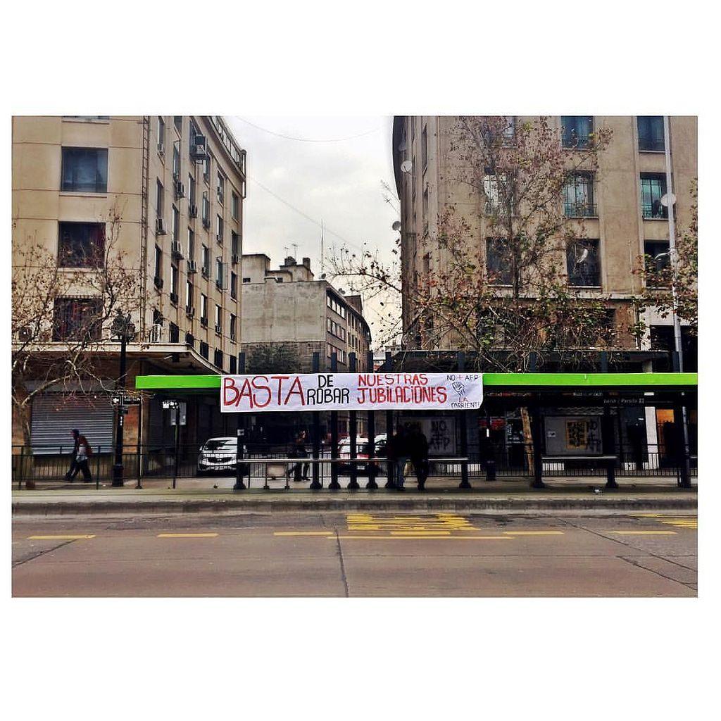 basta de robarnos #nomásafp  by gestopolis