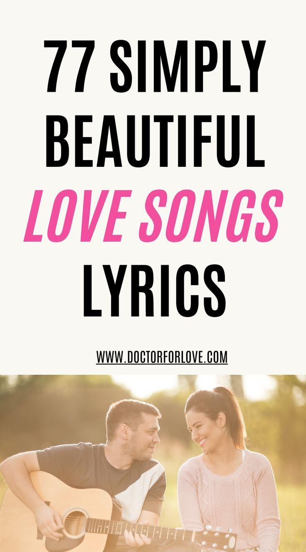 77 Beautiful Love Songs Lyrics