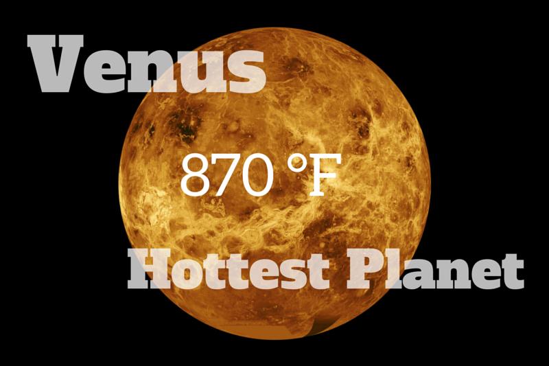 Hasil gambar untuk planet venus the hottest