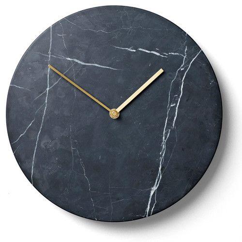 Found It At Allmodern 11 Wall Clock Marble Clock Black Wall Clock Marble Wall