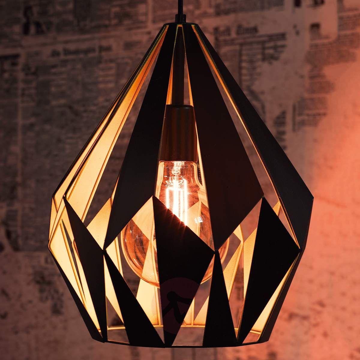 czarno zolte lampy sufitowe