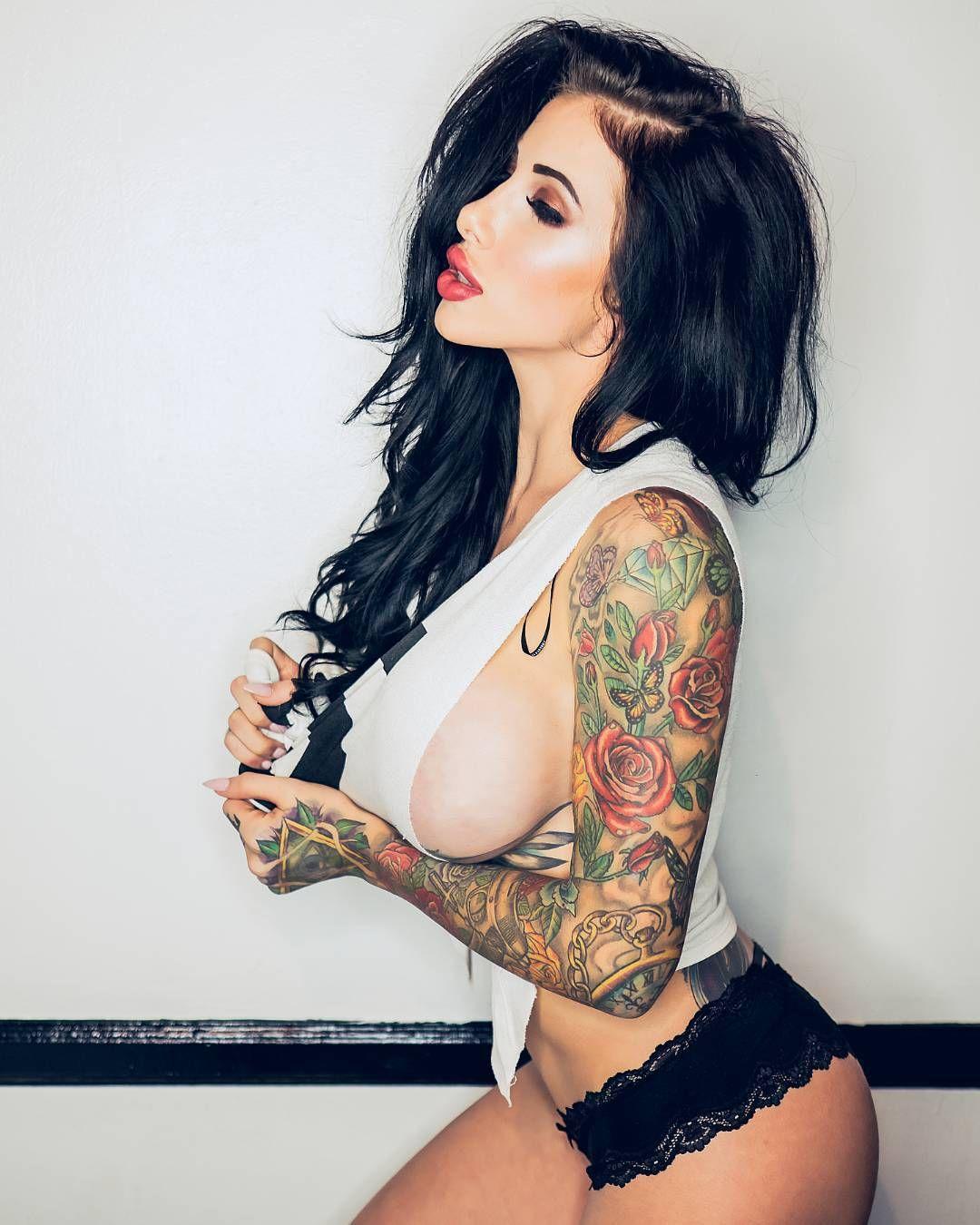 Bad girl татуировки