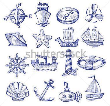 Hand drawn travel icons vector - Поиск в Google