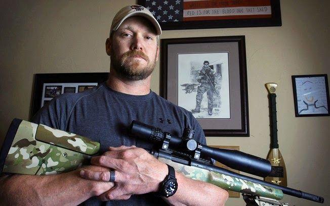 "Noticias daí: ""Sniper Americano"" - Chris Kyle | Chris kyle, Marinha americana, Sniper americano"