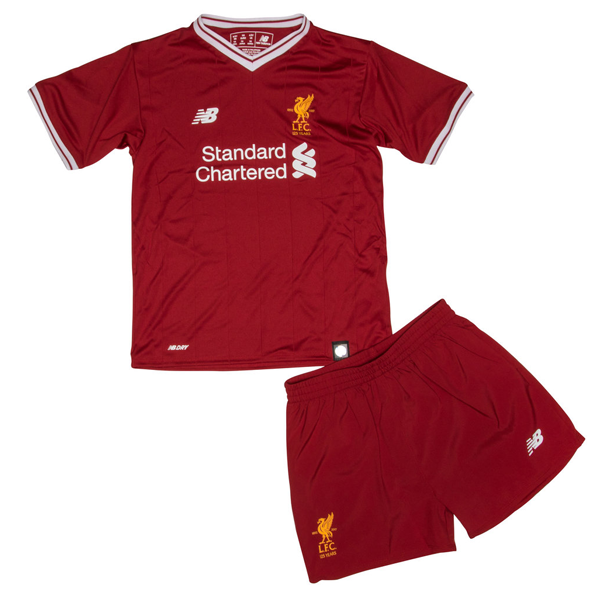 0ec97dc8c7a This Liverpool Home Kids Football Kit 2017 2018 is what the Kop will be  seeing this Thai quality 2017 2018 Turkey Besiktas JK soccer jerseys 17 18  ...