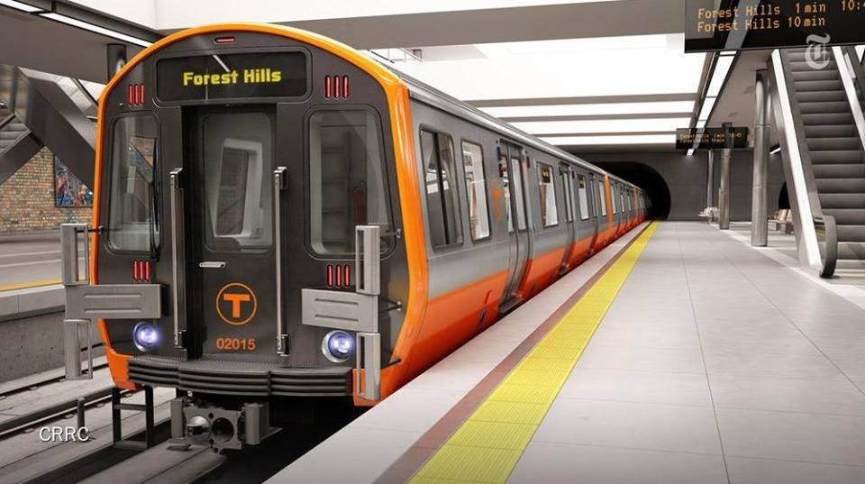 New orange line mbta trains that will hit the tracks in 2018 new orange line mbta trains that will hit the tracks in 2018 sciox Gallery