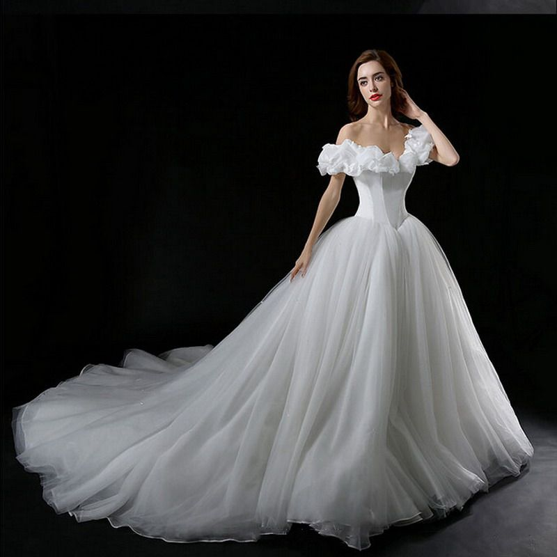 Popular Cinderella Wedding Dresses Buy Cheap Cinderella Wedding Wedding Dresses Cinderella Ball Gowns Wedding Bridal Dresses