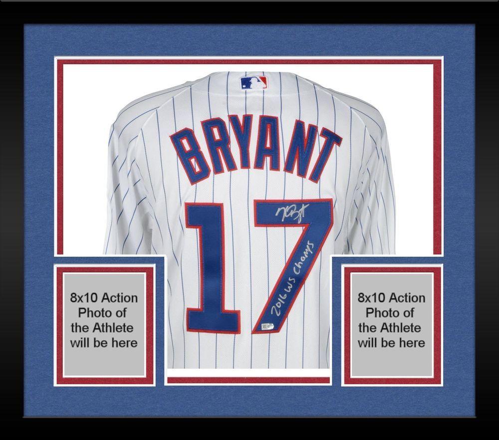 Autographed Kris Bryant Cubs Jersey Fanatics Authentic COA Item 8891551 5f27d775e