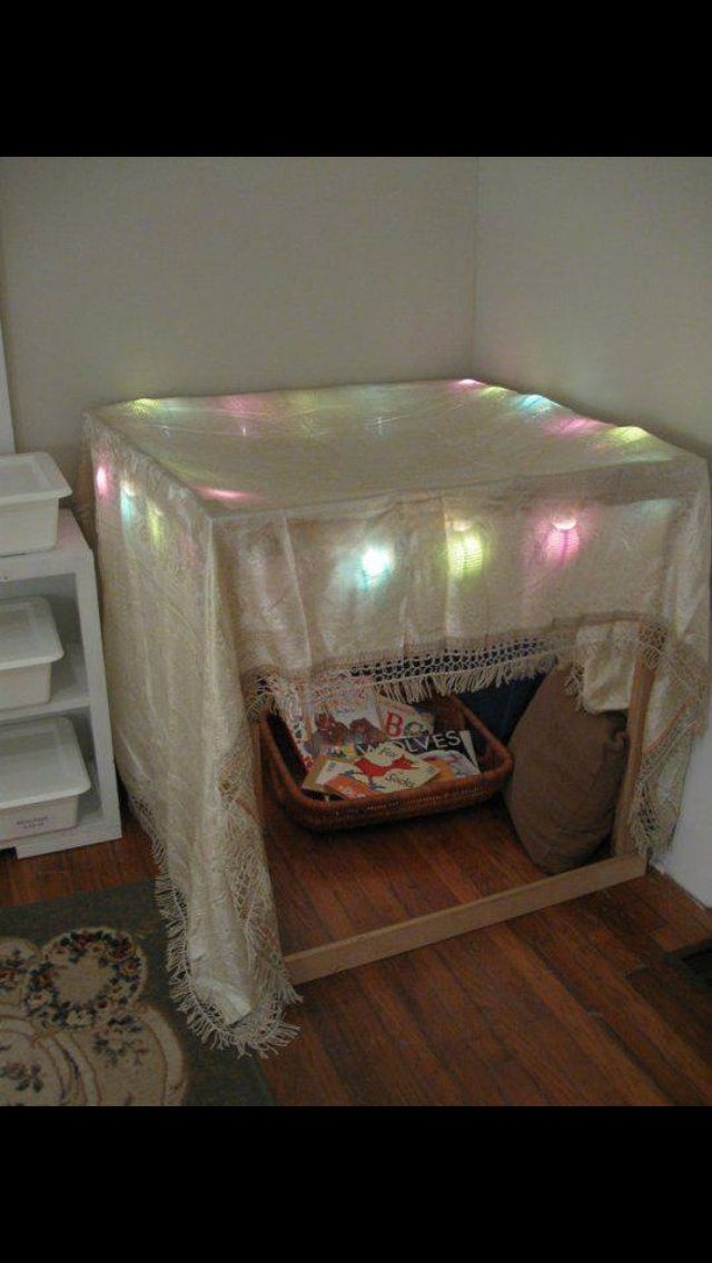 Good Idea For A Cozy Area If The Room Lacks The Nook