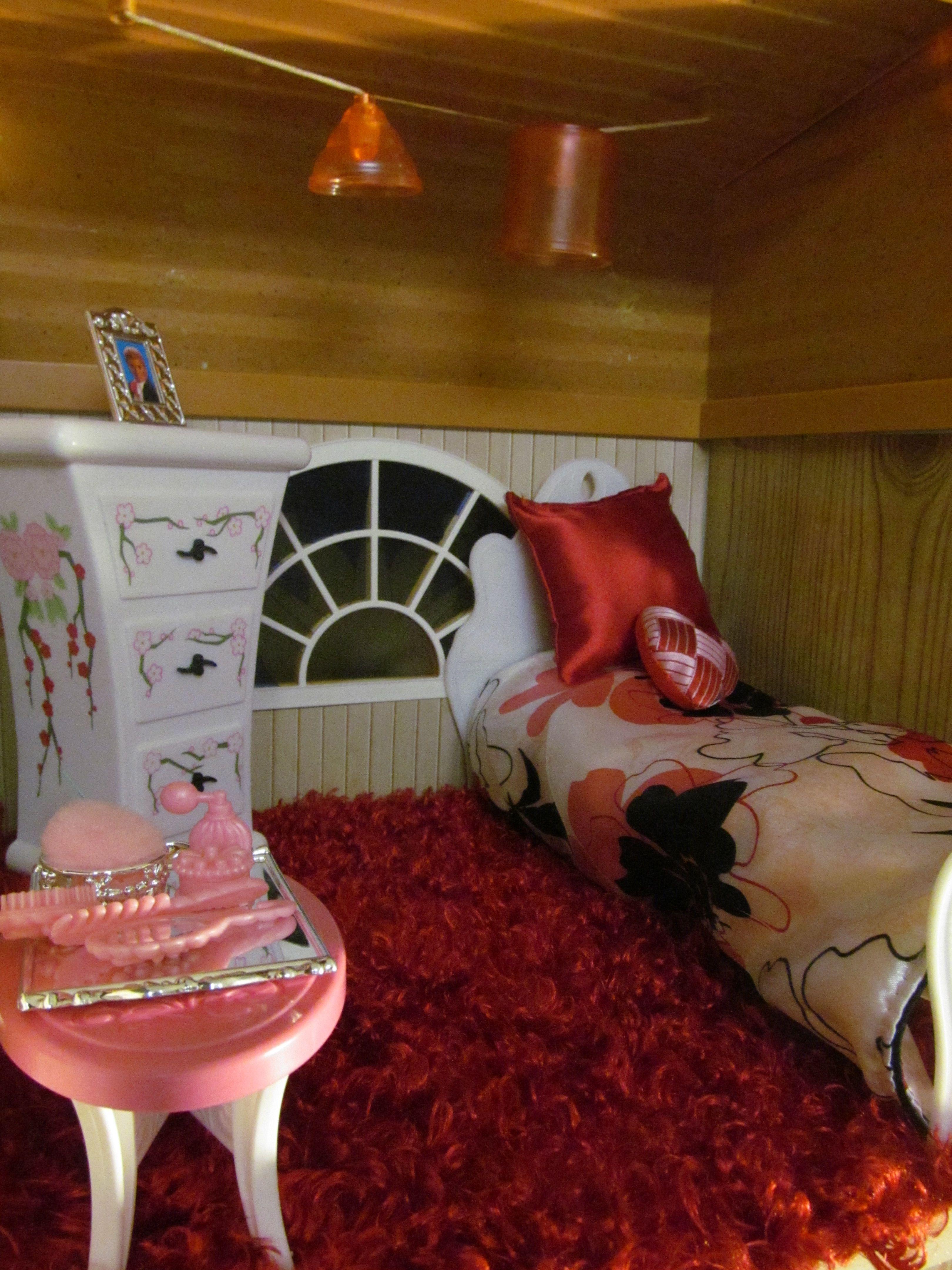 OOAK Barbie House Created By Michele Tunstall, Ebay