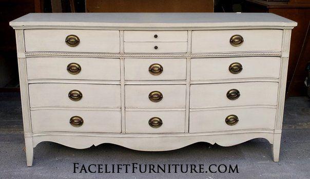 DIY Inspiration - Painted, Glazed & Distressed Furniture | Dresser,  Refinished bedroom furniture and Lights - DIY Inspiration - Painted, Glazed & Distressed Furniture Dresser