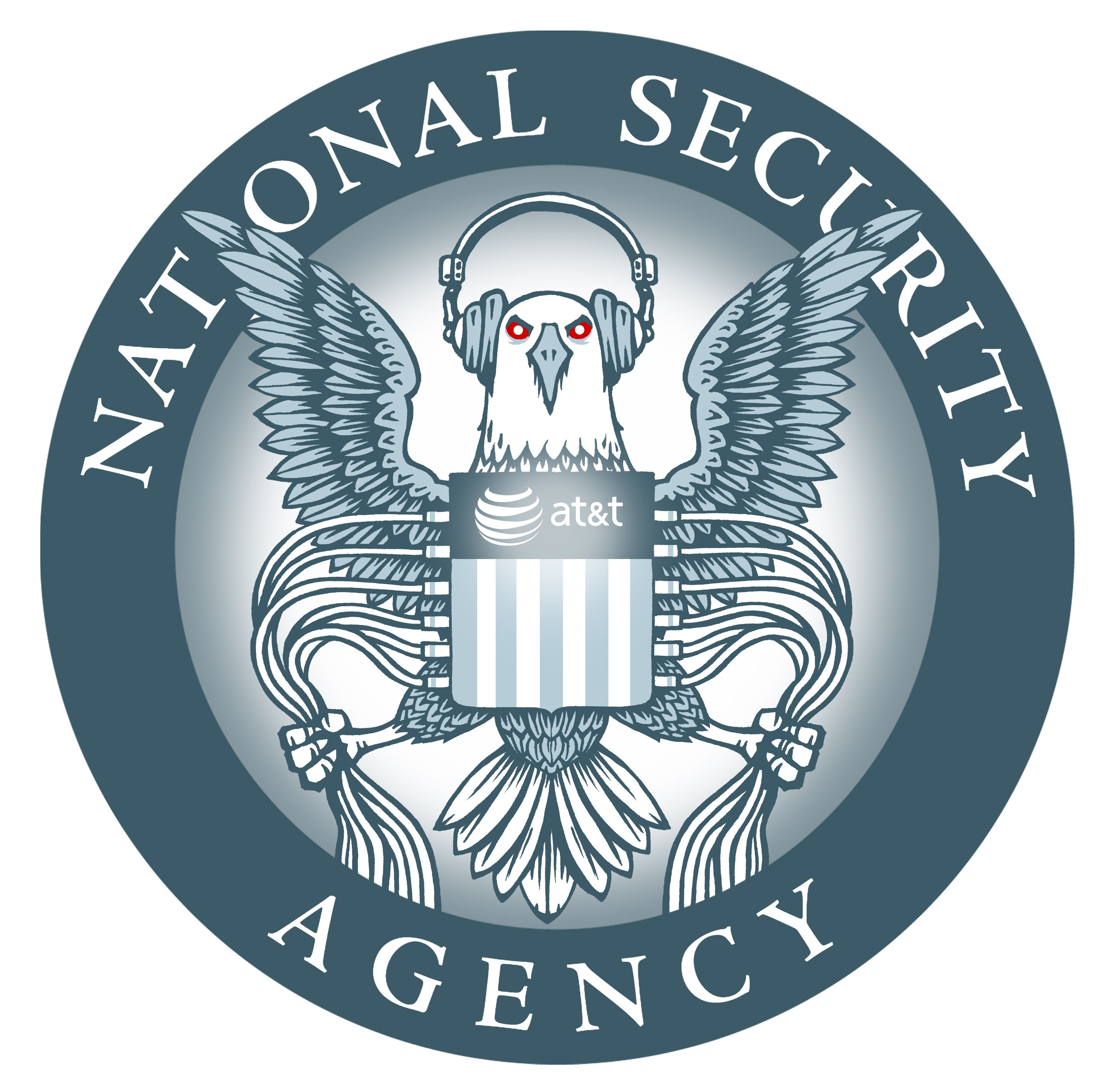 """4/"""" ODNI OFFICE OF THE NATIONAL INTELLIGENCE EMBLEM DECAL STICKER MADE IN USA"""