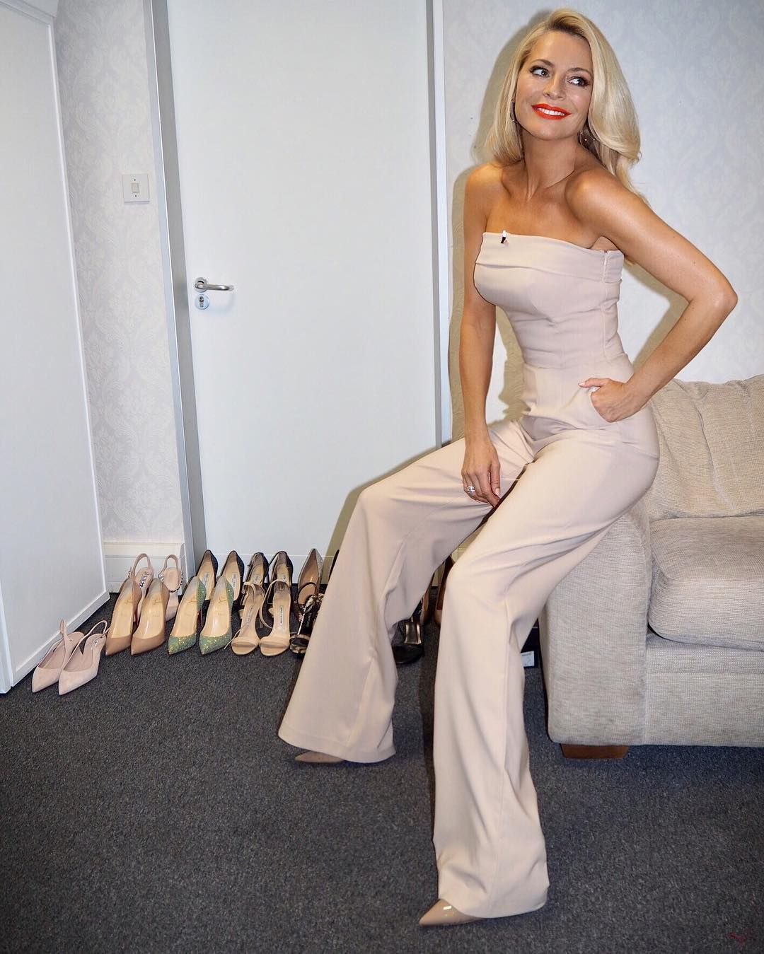 Tess Daly Style Outfit Collection