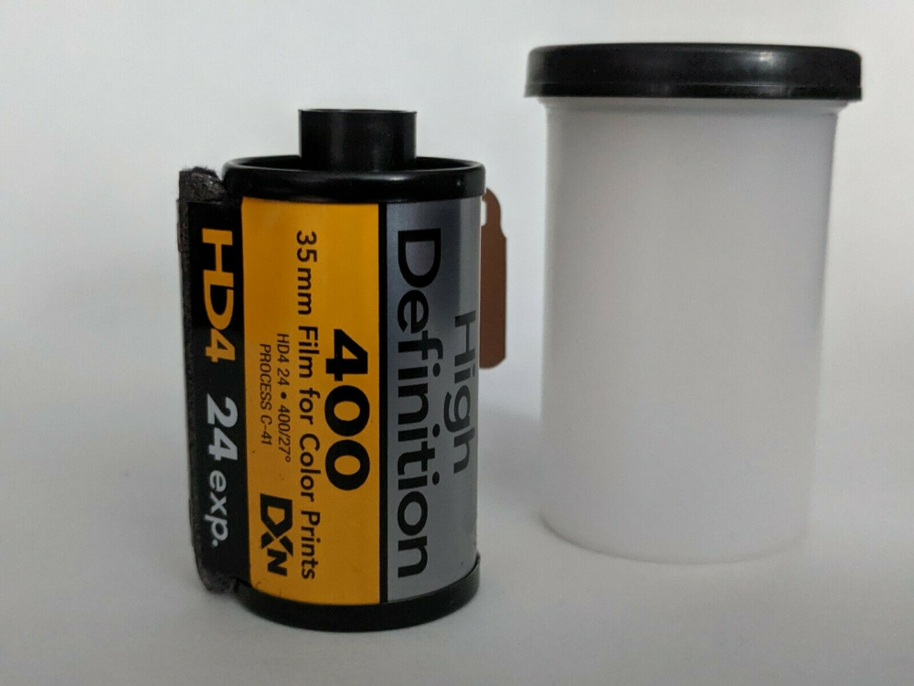 Details about Kodak High Definition 400 Film 24 Exposure