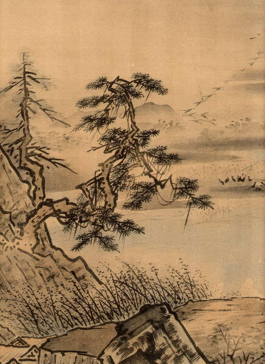Sesshu Sumi- In 2019 Chinese Painting
