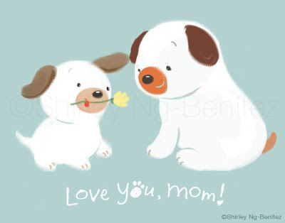 We Love to Illustrate: FREE Printable Mother's Day cards!
