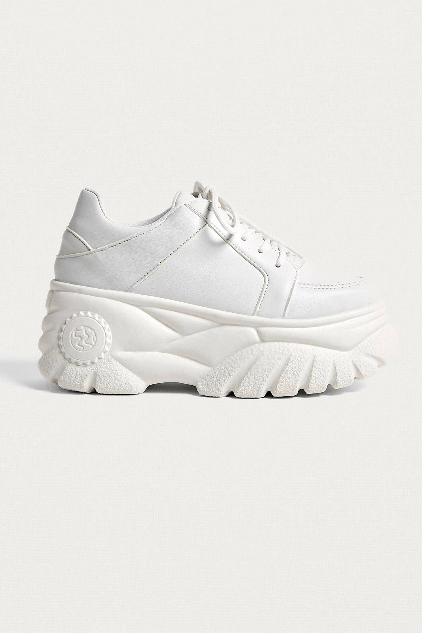 4793fb1957c8 UO Tyson White Chunky Trainers in 2019