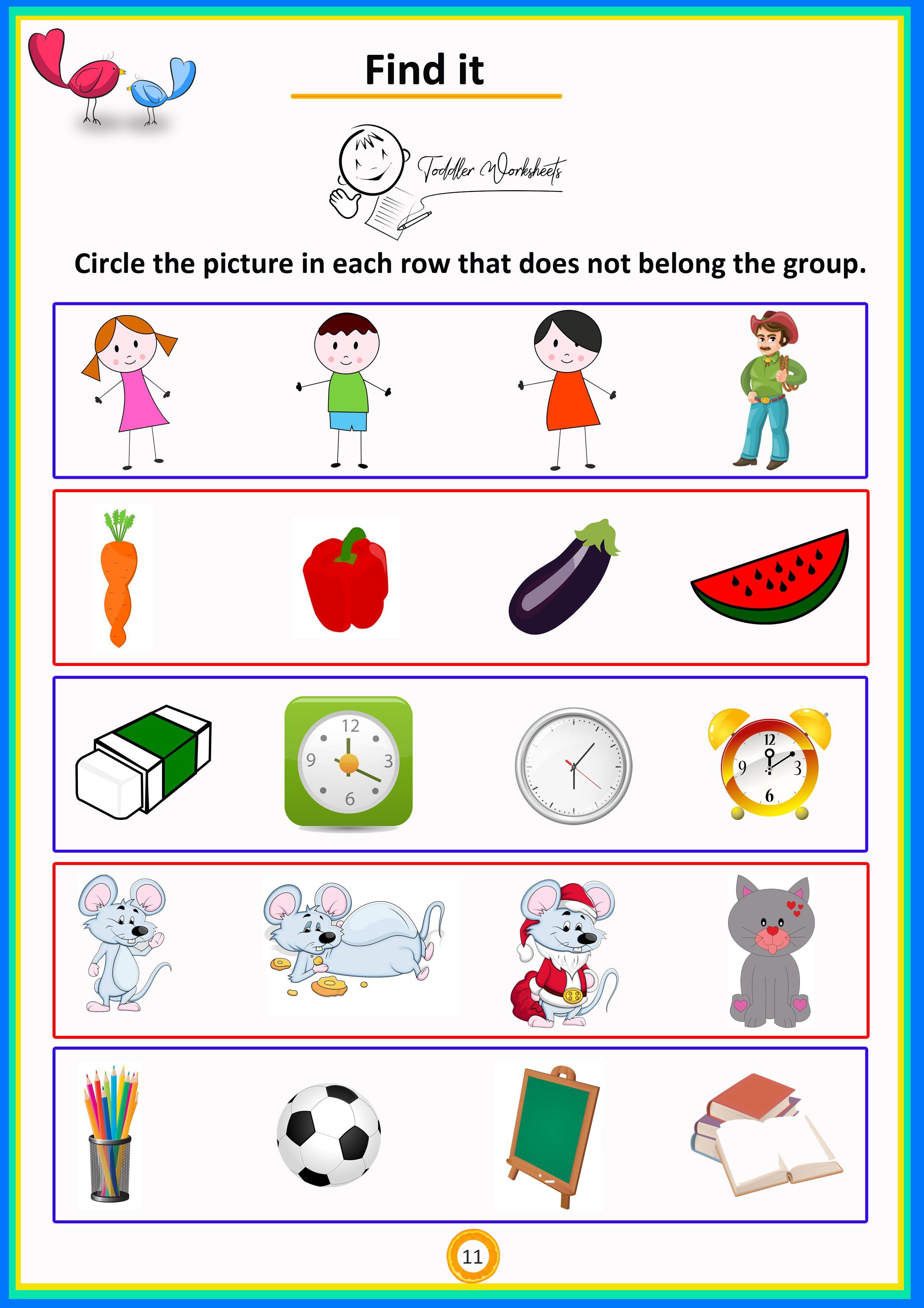 Find It 3 Free Toddler Preschool Simple Math Worksheet Preschool Math Worksheets Preschool Winter Math Winter Math Worksheets [ 3508 x 2480 Pixel ]