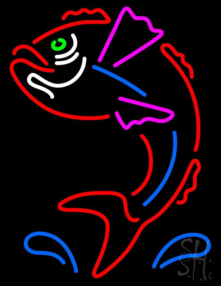 Red Fish Neon Sign | Red fish, Neon signs, Neon - photo#2
