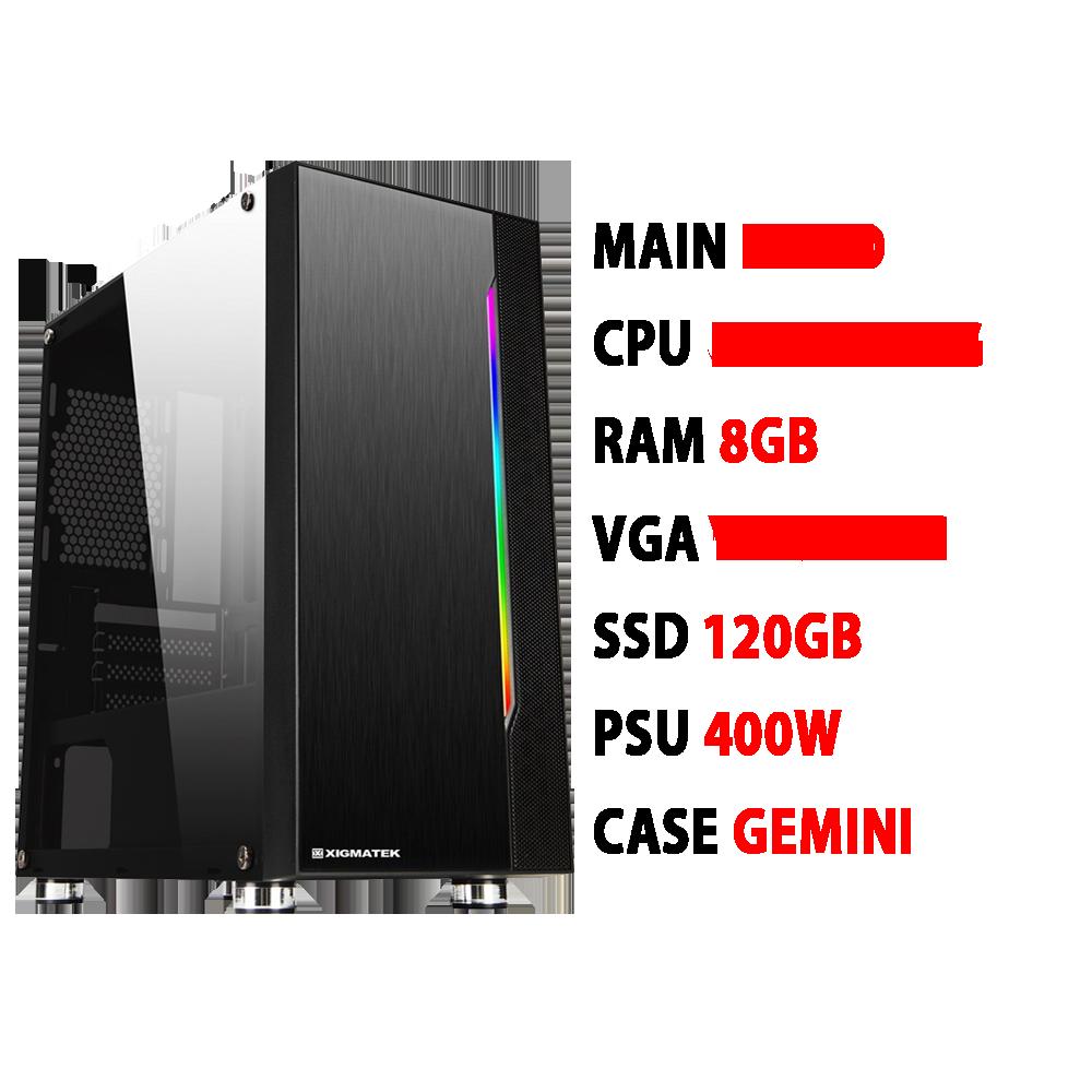 Pc Gaming Vpc Apex R5 2400g 8gb Vega 11 400w Gia Rẻ Tại Hải Dương