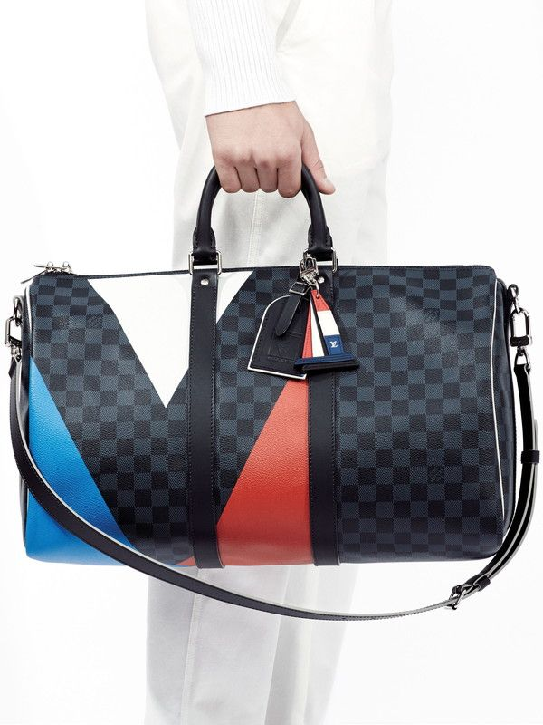 Louis Vuitton Damier Cobalt Regatta Keepall Bag 1 Louis Vuitton Bag Louis Vuitton Louis Vuitton Handbags