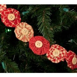 Sturbridge Yankee Workshop Christmas 2020 Yo Yo Garland | Sturbridge Yankee Workshop in 2020 | Holiday
