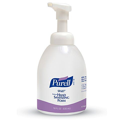Purell Alcohol Free Foam Hand Sanitizer Pump Bottle 18 Oz 4