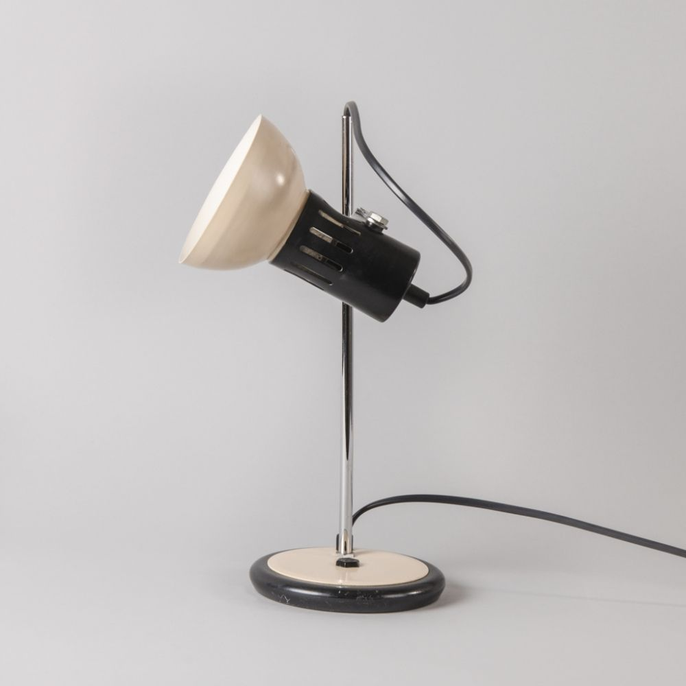 For Sale Vintage Table Lamp From Aluminor 1960s In 2019